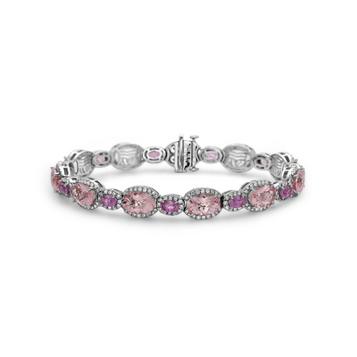 Pastel Diamond Oval Pop Bracelet