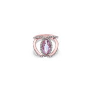 Pastel Diamond Regal Ring