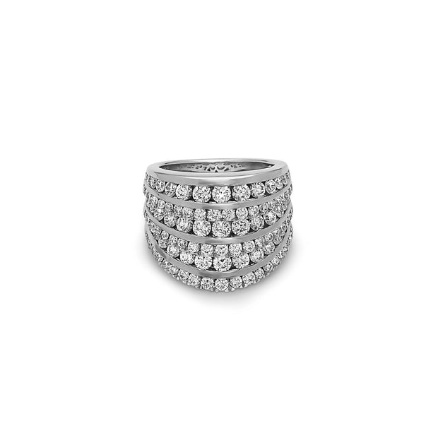 Krypell Collection Large Diamond Opera House Ring