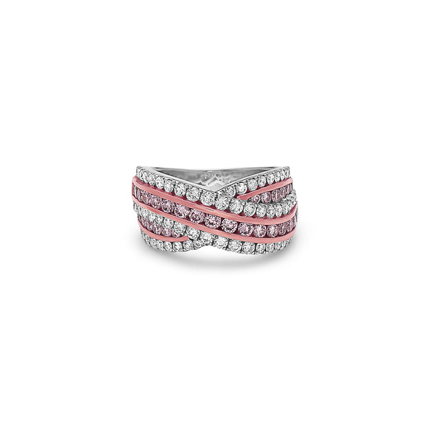 Krypell Collection Diamond Overlap Ring