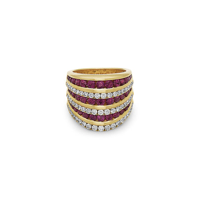 Krypell Collection Diamond Opera House Ring
