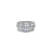 Krypell Collection Diamond Petal Ring