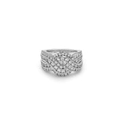 Krypell Collection Diamond Wave Ring
