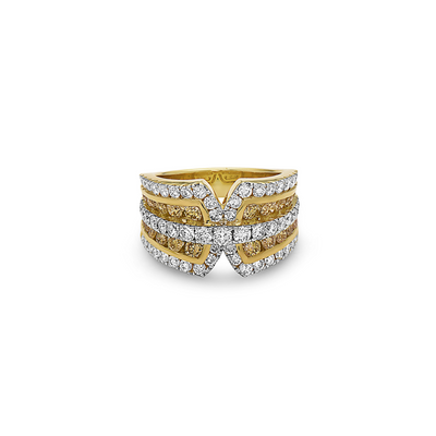 Krypell Collection Diamond Belted Ring