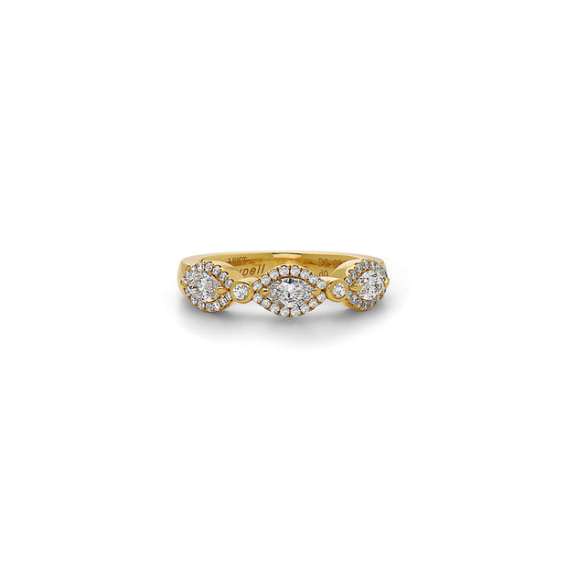 Diamond Firefly Band Ring