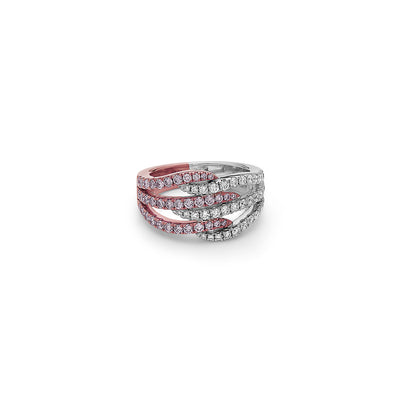 Diamond Fabrage Ring