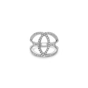 Diamond C Ring