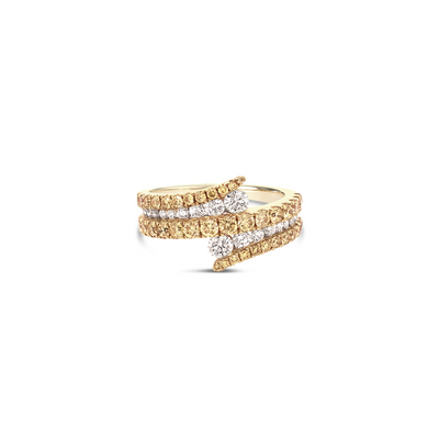 Diamond Dazzle Swirl Ring