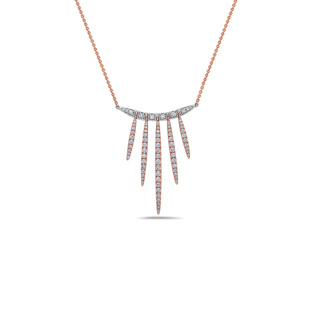 Diamond Fireworks Necklace
