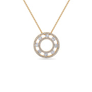 Diamond Air Circle Pendant