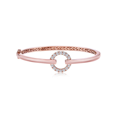 Diamond Circle Stacking Bracelet