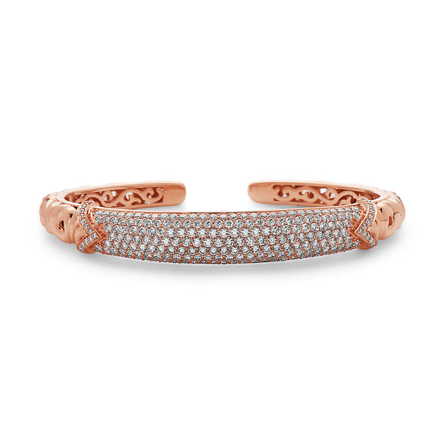 Diamond Ivy Bangle Bracelet