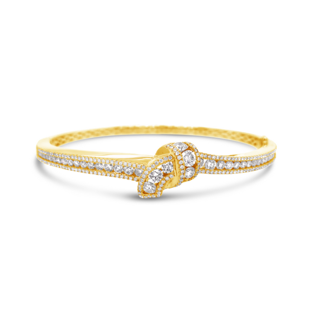 Krypell Collection Diamond Embrace Bracelet