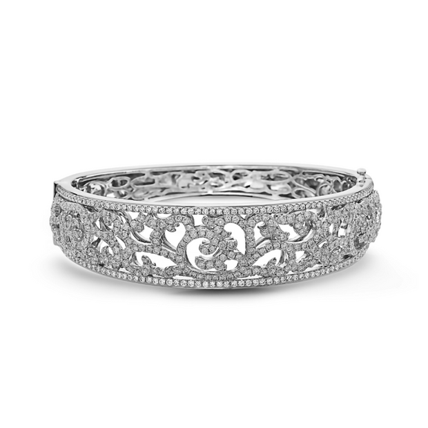 Diamond Ivy Lace Precious Cuff