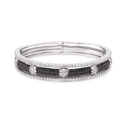 Diamond Tri-Layer Bracelet