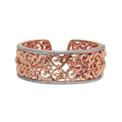 Diamond Ivy Lace Wide Cuff