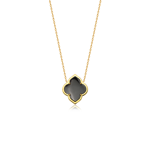 Gold Collection Les Fleurs Single Motif Pendant