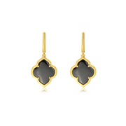 Gold Collection Les Fleurs Classic Drop Earring