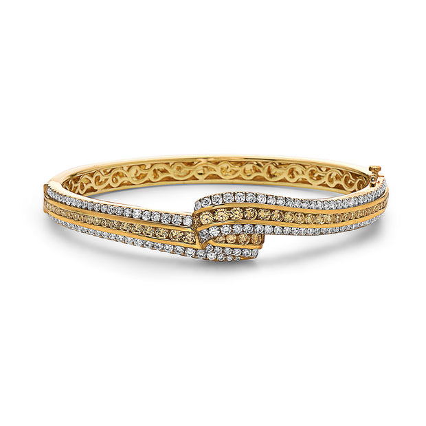 Krypell Collection Diamond Triple Fold Bracelet