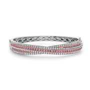 Krypell Collection Diamond Overlay Bracelet