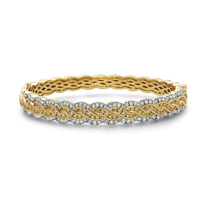 Krypell Collection Diamond Braided Bracelet