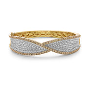 Precious Diamond Twisted Bracelet