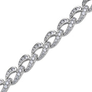 Krypell Collection Diamond Link Bracelet