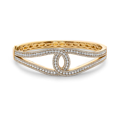 Krypell Collection Diamond C Bracelet