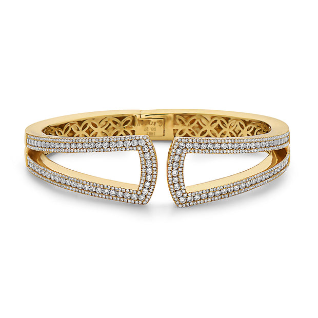 Krypell Collection Diamond U Bracelet