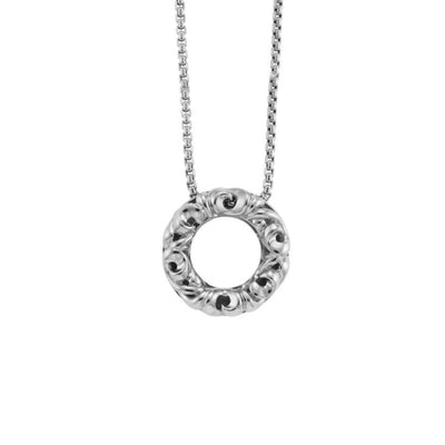 Silver I Love You' Necklace
