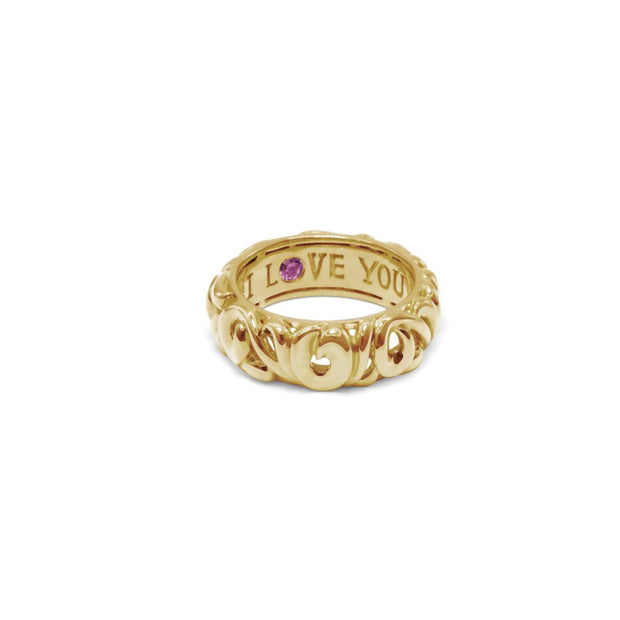 Gold Collection I Love You' Rings