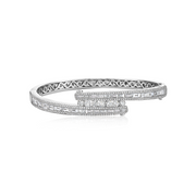 Diamond Baguette 'Ice' Bracelet