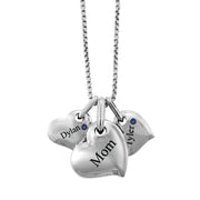 Personalized Family Love Hearts