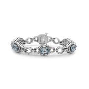 Pastel Diamond Bridle Oval Bracelet