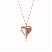 Angel Heart Small Gold Pendant