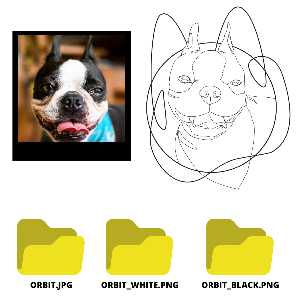 OLOL DRAWING - DIGITAL FILE ONLY (JPG AND PNG)