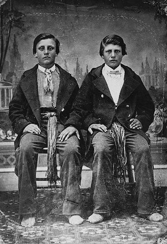 Charles and Joseph Riel. Source: Canadian Geographic