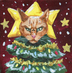 Angry Christmas Cats - Card Pre-Order