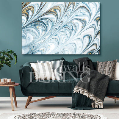Tender Abstract Art Canvas Print BoringWalls