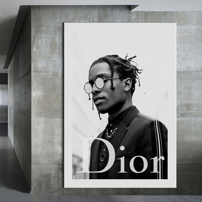 ASAP Rocky Success Canvas Print BoringWalls