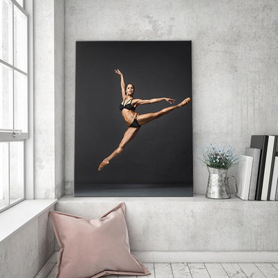Rising Star - Misty Copeland Success Canvas Print BoringWalls