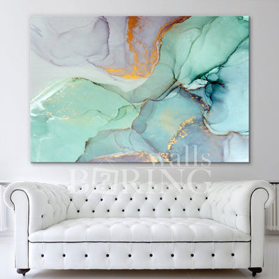 Modern Abstract Wall Art Canvas Print BoringWalls