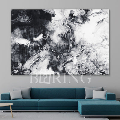 Contemporary Abstract Wall Decor Canvas Print BoringWalls