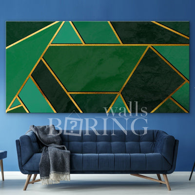 Modern and stylish abstract design Canvas Print BoringWalls