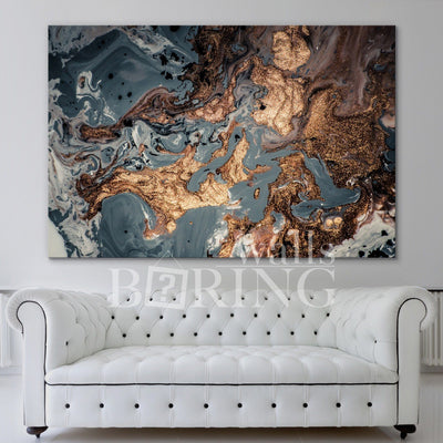 Modern Abstract Wall Decor Canvas Print BoringWalls