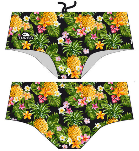 TURBO Pineapple Night - 73018717-0099 - Mens Aquashorts - Swimming