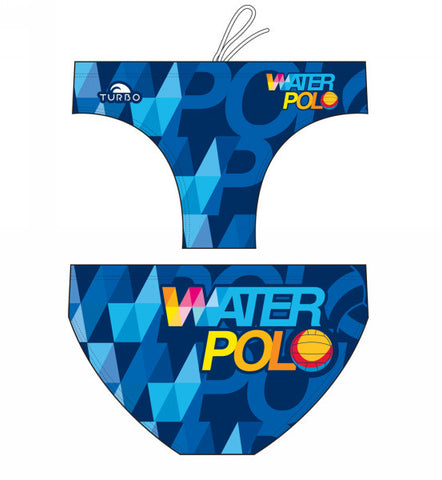 TURBO - 730201-0006 - Mens Suit - Water Polo
