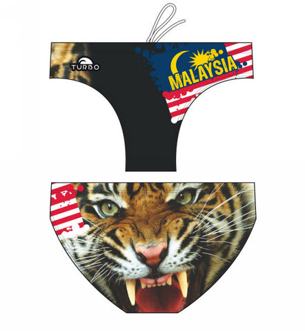 TURBO Tiger Malaysia - 79952-0009 - Mens Suit - Water Polo