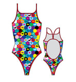 TURBO - 8301132-0099 - Thin Strap Womens Swimsuit / Swimwear / Costume - Swimming