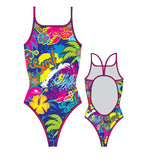 TURBO - 8301562-0099 - Thin Strap Womens Swimsuit / Swimwear / Costume - Swimming